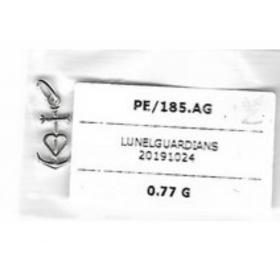 Pendentif croix de camargue Argent-0.77G