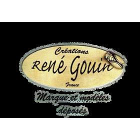 bague TORP STYL doré-René Gouin
