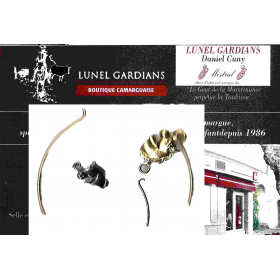 Bracelet-jonc fin / cheval
