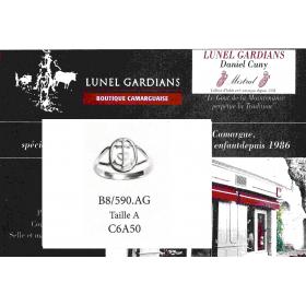 Bague Croix de Camargue Argent.B8/590 AG