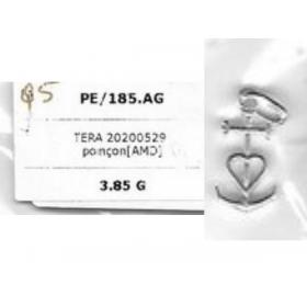 PE/195.AG croix de camargue ARGENT