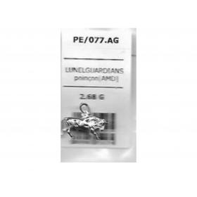 PE/077.AG- TAUREAU ARGENT