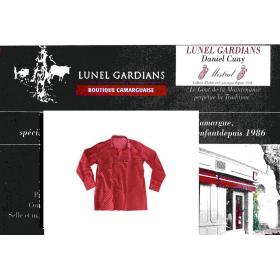Chemise gardian Enfant-médaillon Rouge