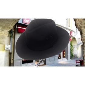 chapeau gardian toile noir