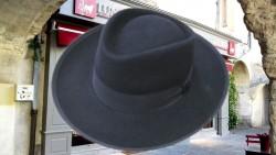 chapeaux de gardian poil de  lapin