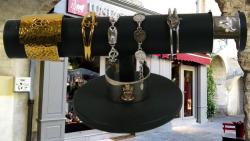 Bijoux - Bouvine /  Collection /Bague-Bracelet//Bolo/Porte Clés / pendentif Bd'O